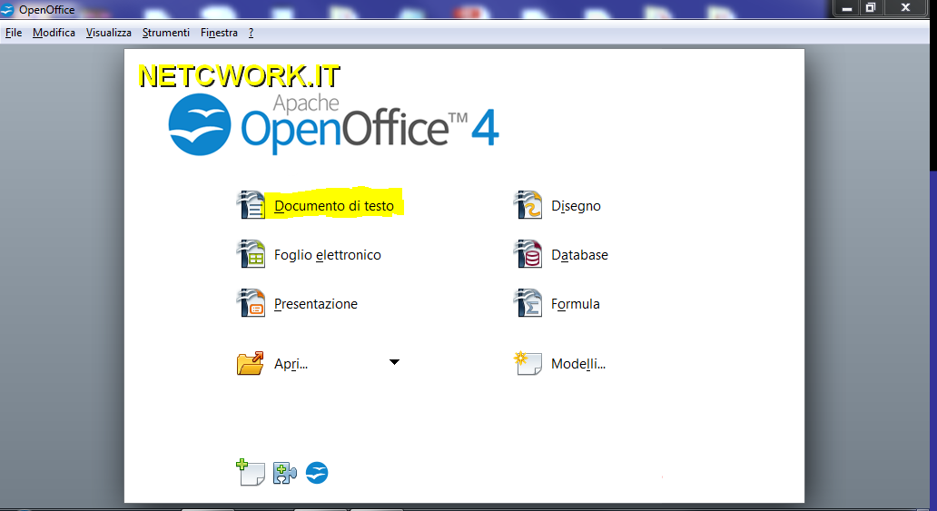 Come creare un file PDF con Open Office