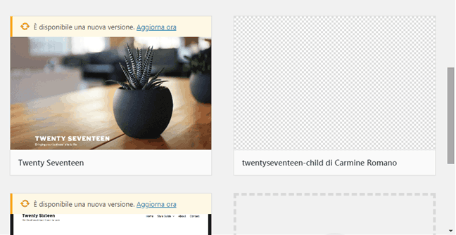 Come creare un tema child in WordPress