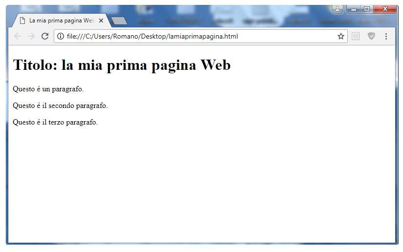 Come creare una pagina Web