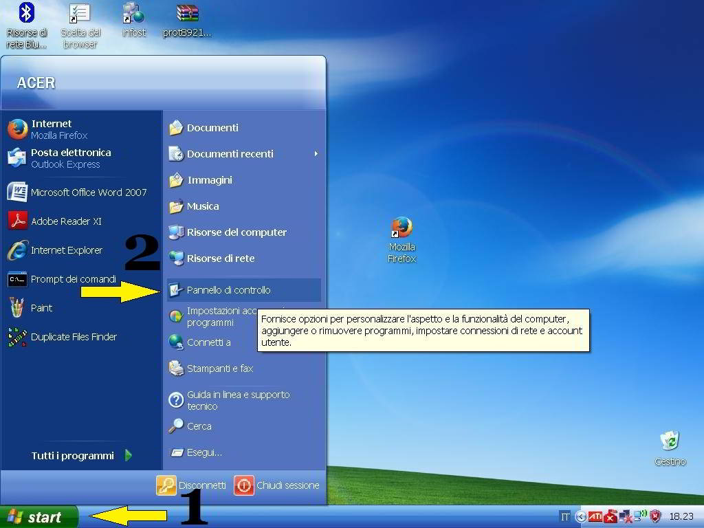 Come eliminare i cookie di Internet Explorer in Windows XP