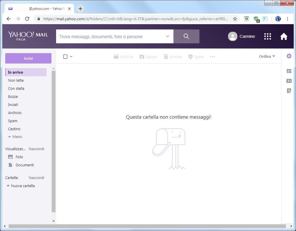 Come creare un account email su Yahoo