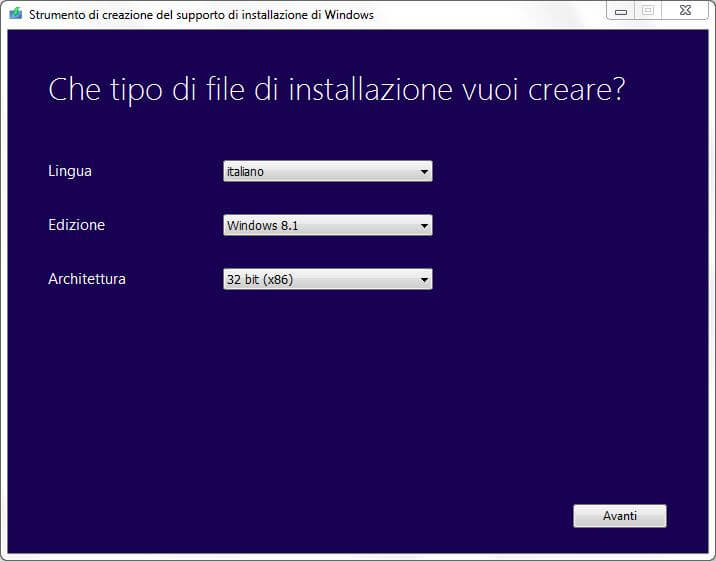 Come installare Windows 8.1