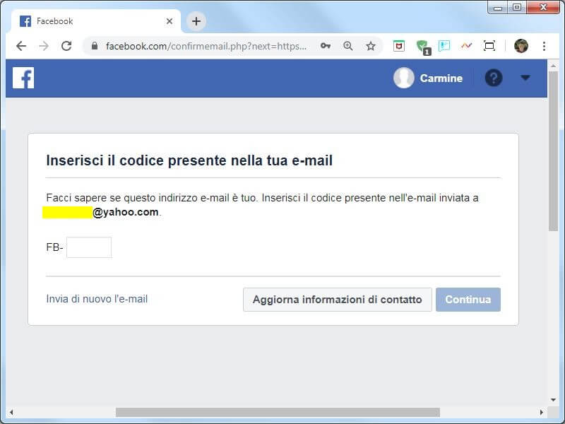 Come creare un account su Facebook