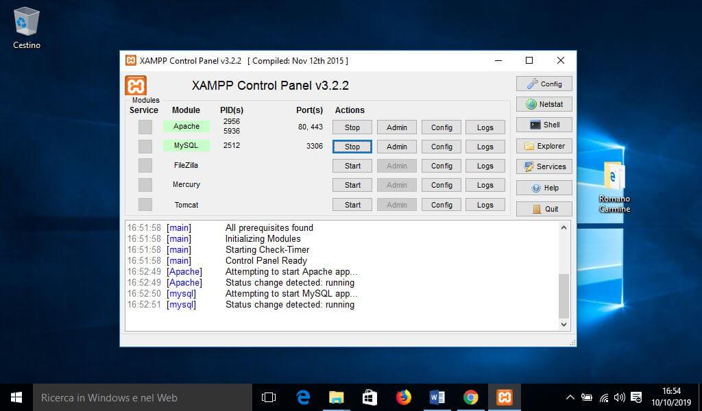 Come installare Xampp su Windows