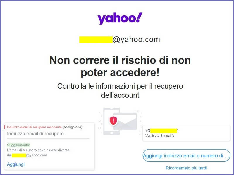 Come recuperare la password di Yahoo