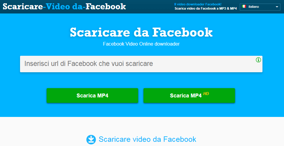 Come fare il download dei video da Facebook