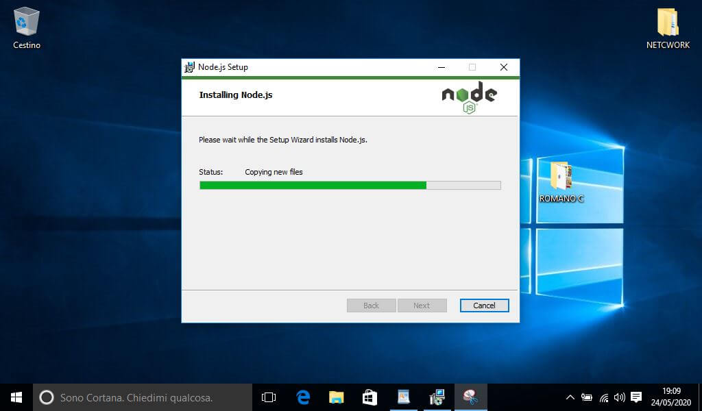 Come installare NodeJS su Windows