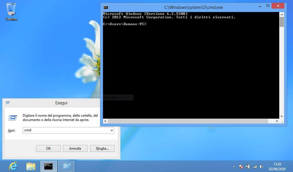CMD in Windows 8