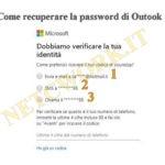 Come recuperare la password di Outlook