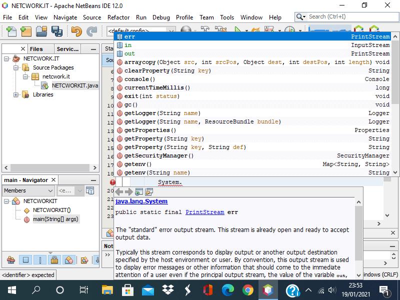 Integrare la documentazione Java in Netbeans