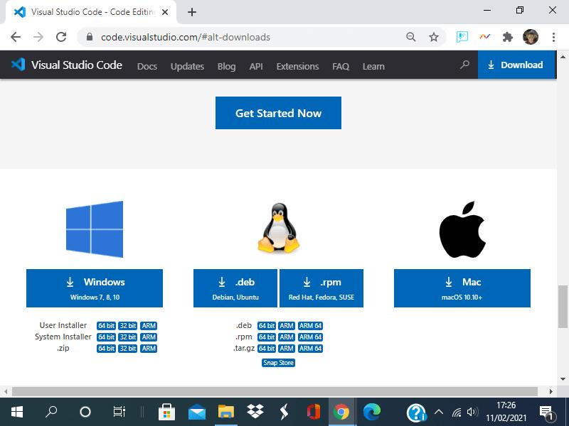 Come installare Visual studio Code