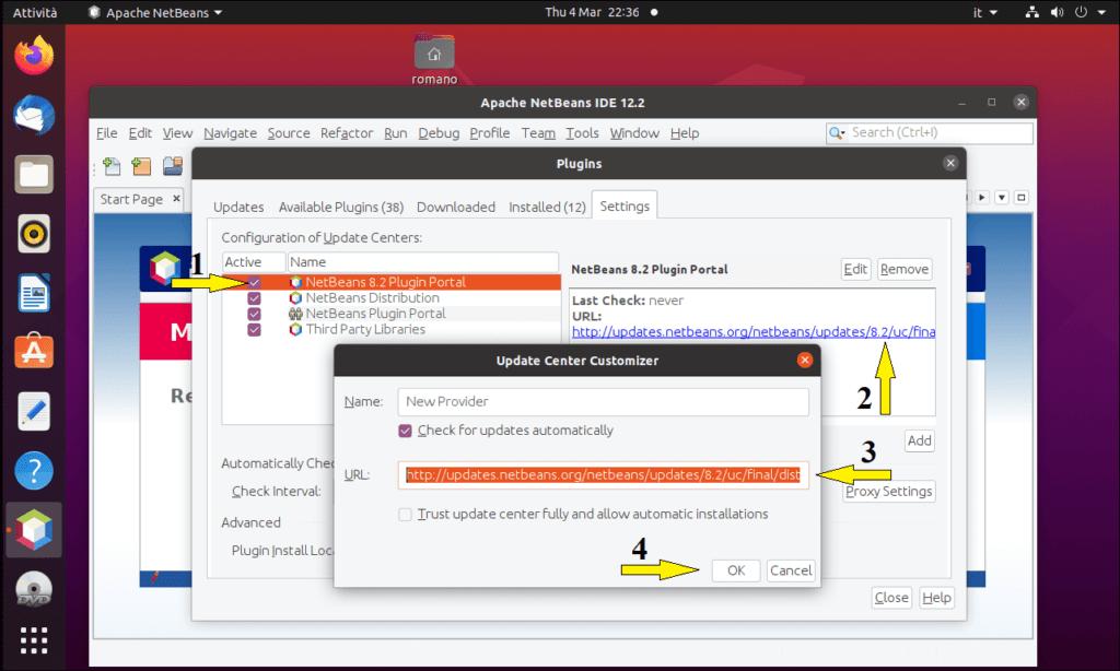 Programmare in C con NetBeans su Ubuntu