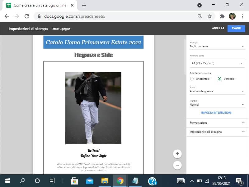 Come creare un catalogo online gratis