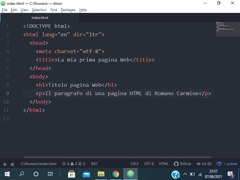 Come creare una pagina Web in HTML