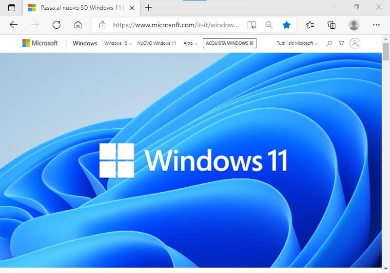 Installare Windows 11 gratis sul PC