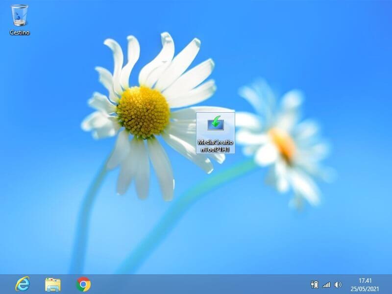Aggiornare Windows 8 a Windows 10