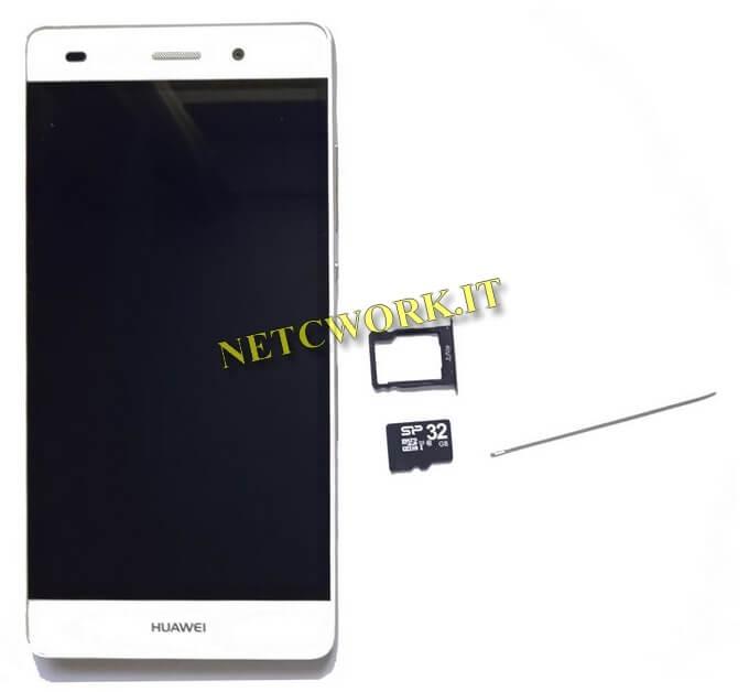 Backup di Huawei su micro SD